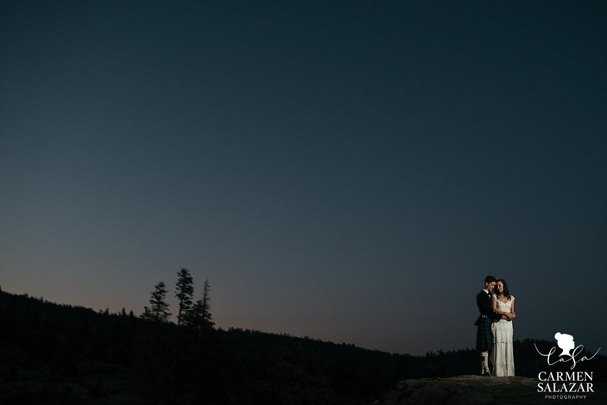 The Hideout Kirkwood epic wedding landscape photography - Carmen Salazar