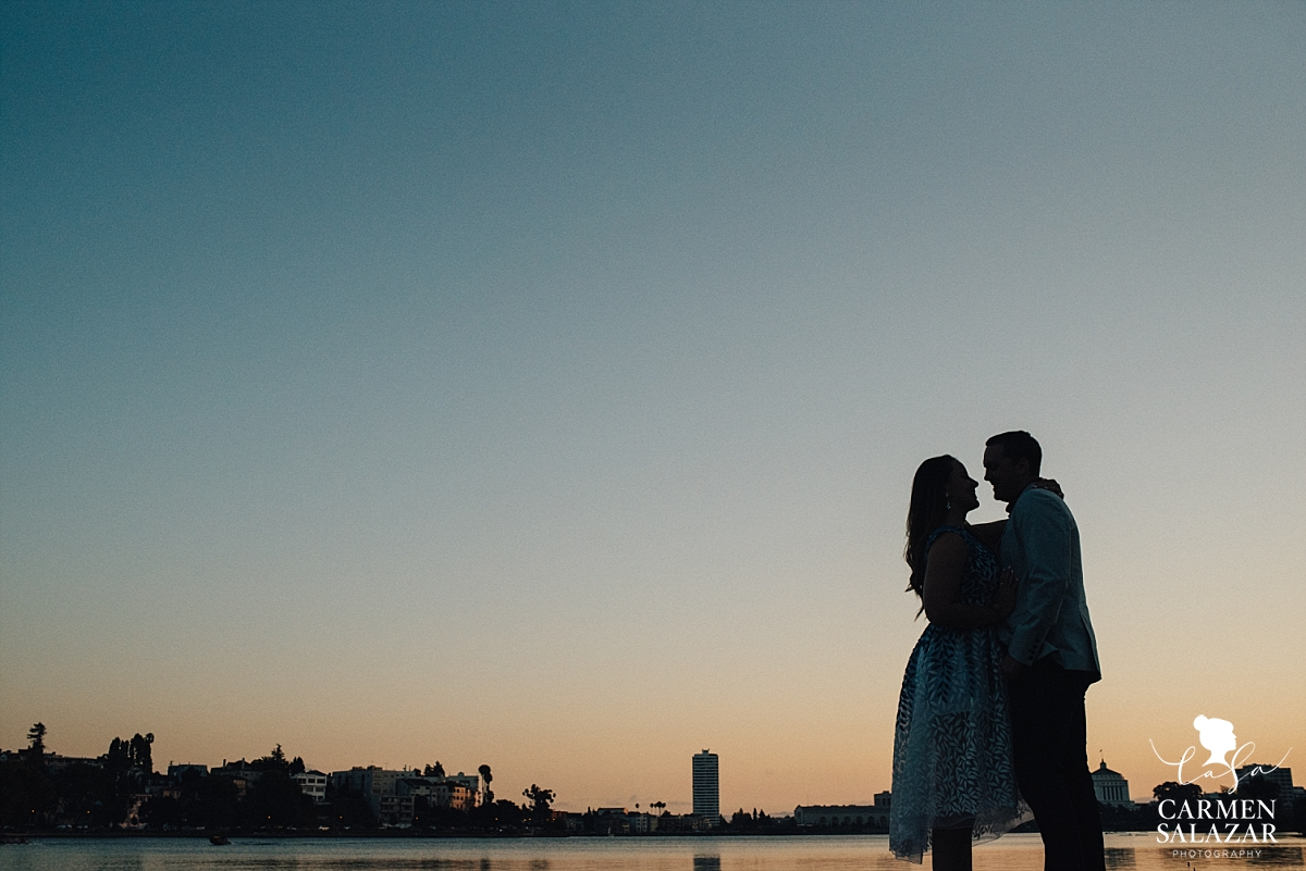 Sunset Oakland engagement photography - Carmen Salazar