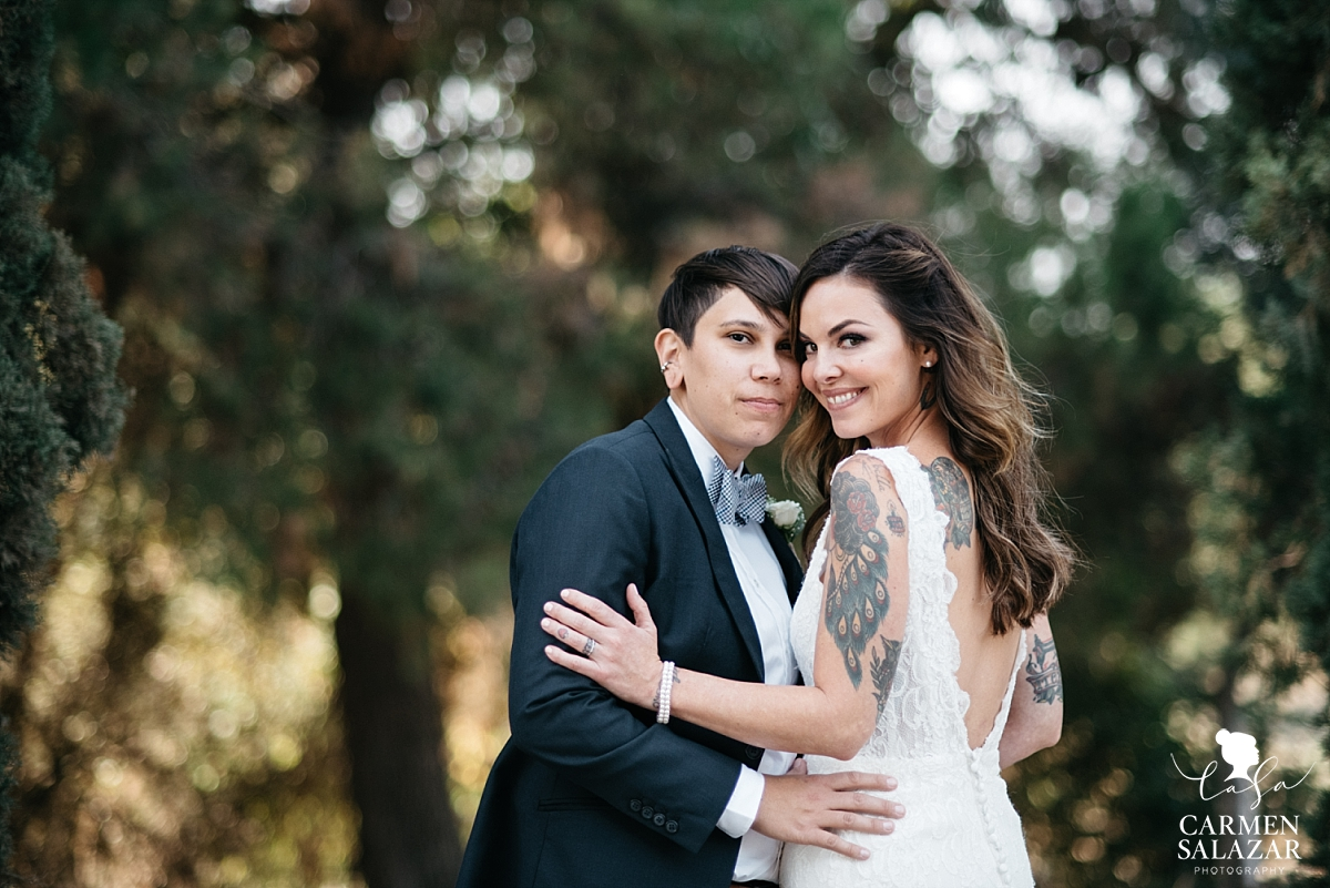 Outdoor LGBTQ California Wedding Photography - Carmen Salazar