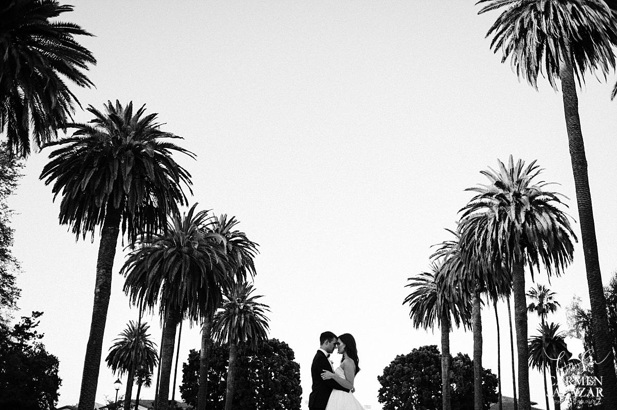 Santa Clara University California summer wedding - Carmen Salazar