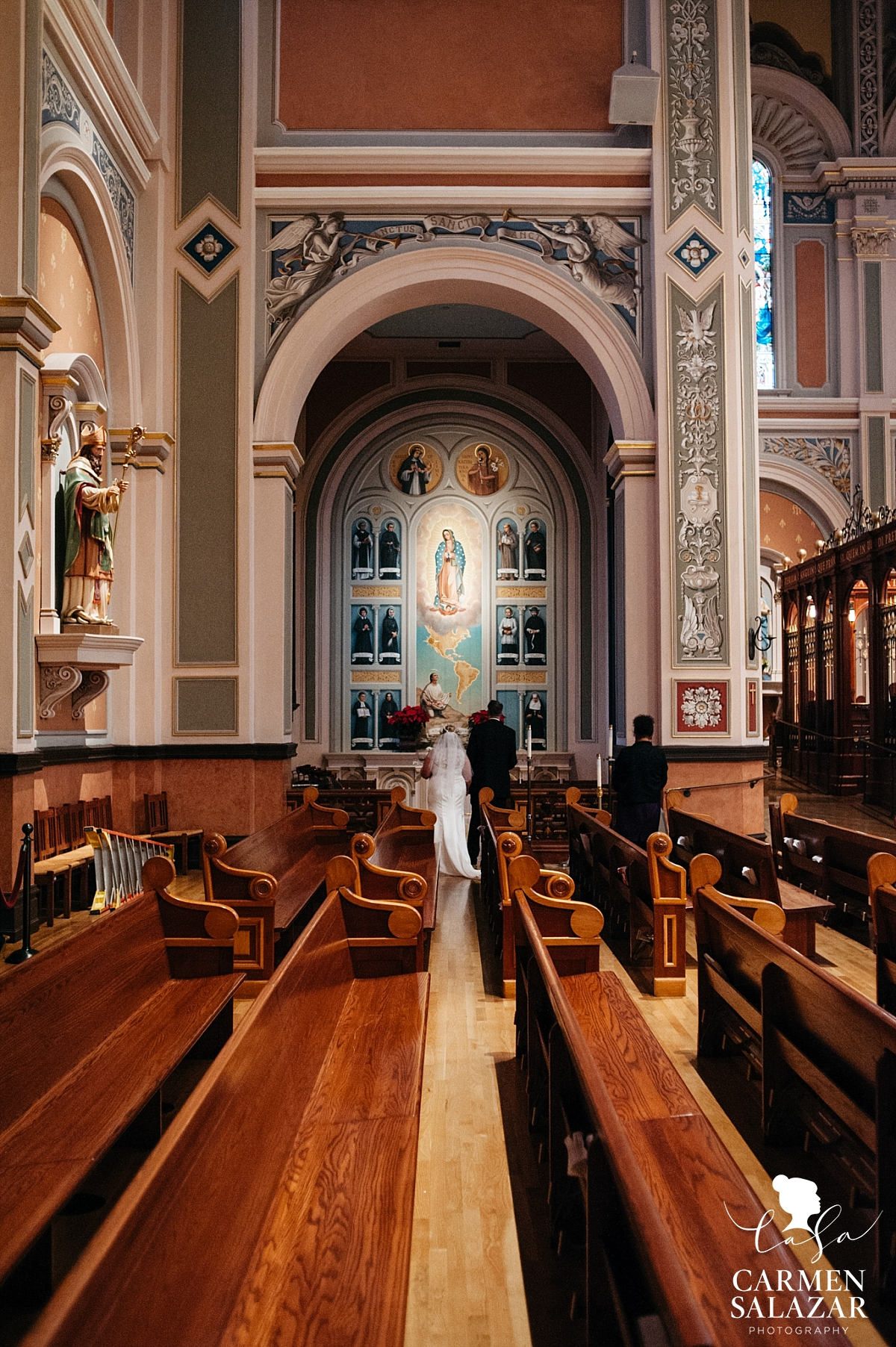 Wedding prayer to Mother Mary - Carmen Salazar