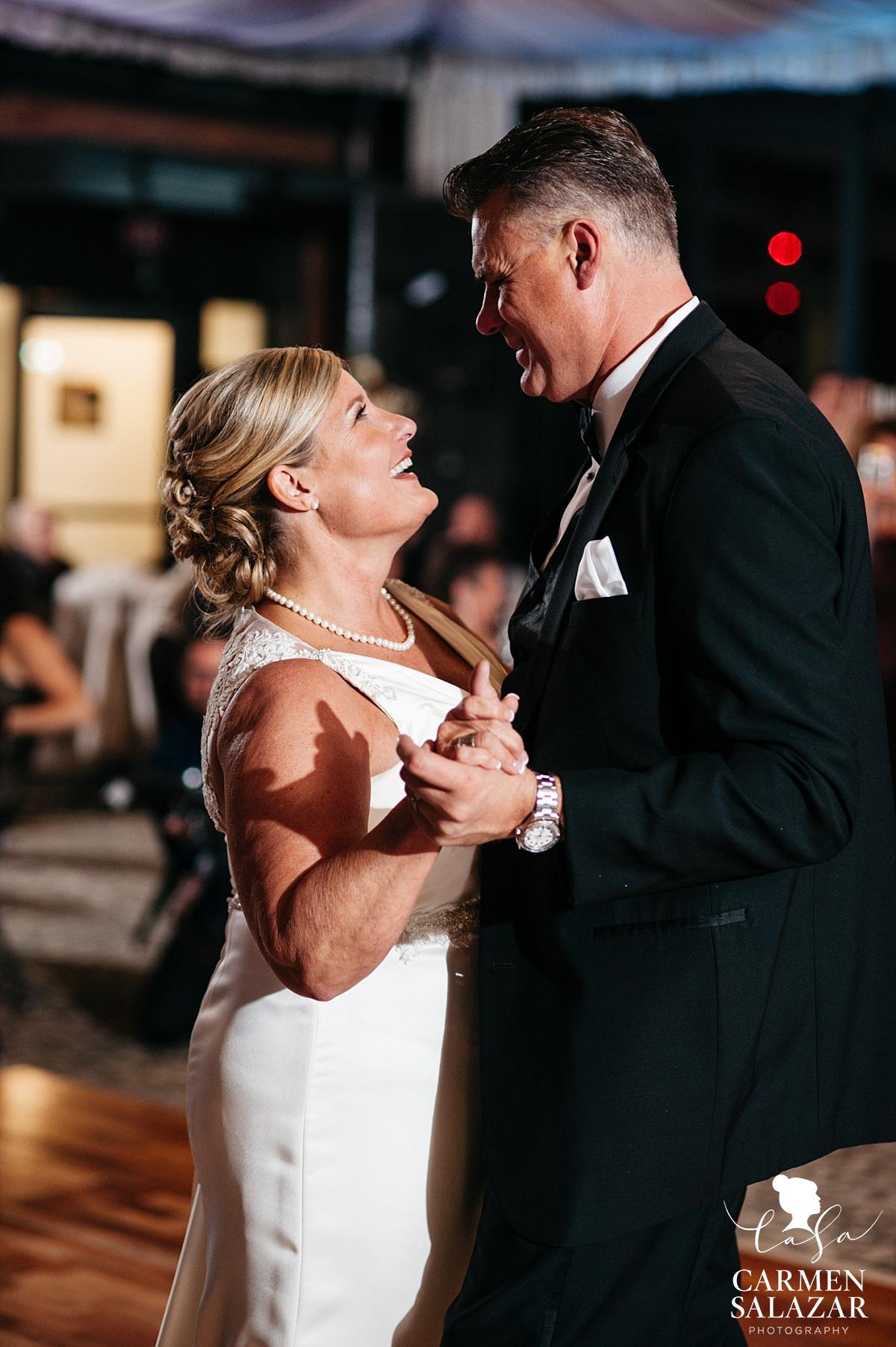 Sacramento ballroom wedding reception first dance - Carmen Salazar