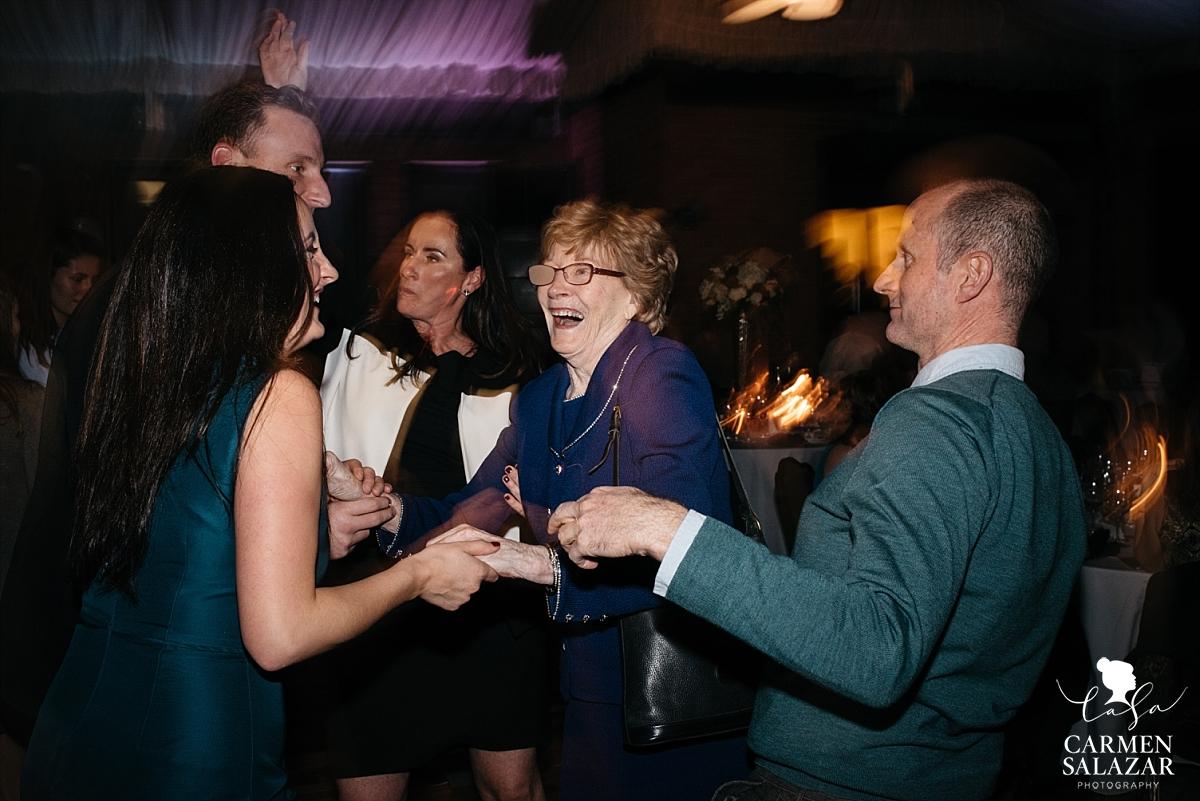 Fun ballroom wedding dance floor - Carmen Salazar