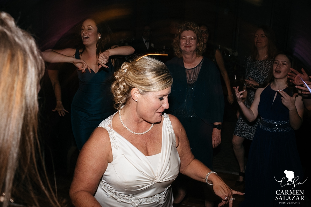 Bride dancing at the Citizen Hotel ballroom - Carmen Salazar