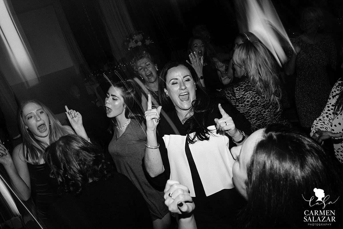Wild dance floor at the Citizen Hotel - Carmen Salazar