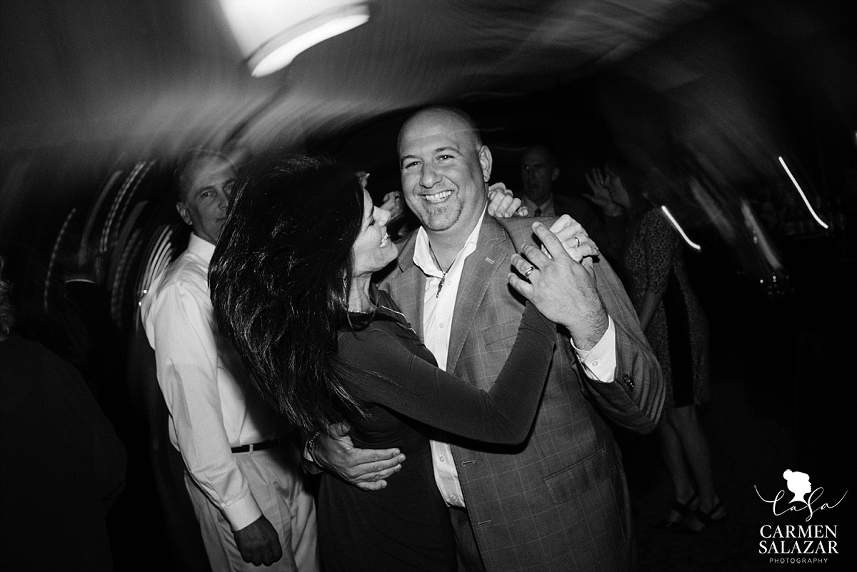 Happy wedding guests at the Citizen Hotel - Carmen Salazar
