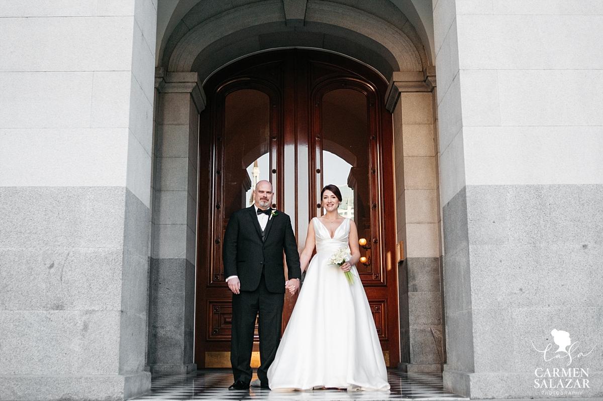 California State Capitol wedding photographer - Carmen Salazar