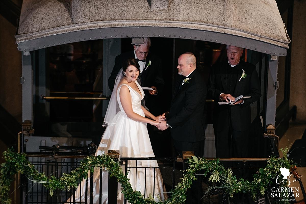 California Railroad Museum wedding - Carmen Salazar