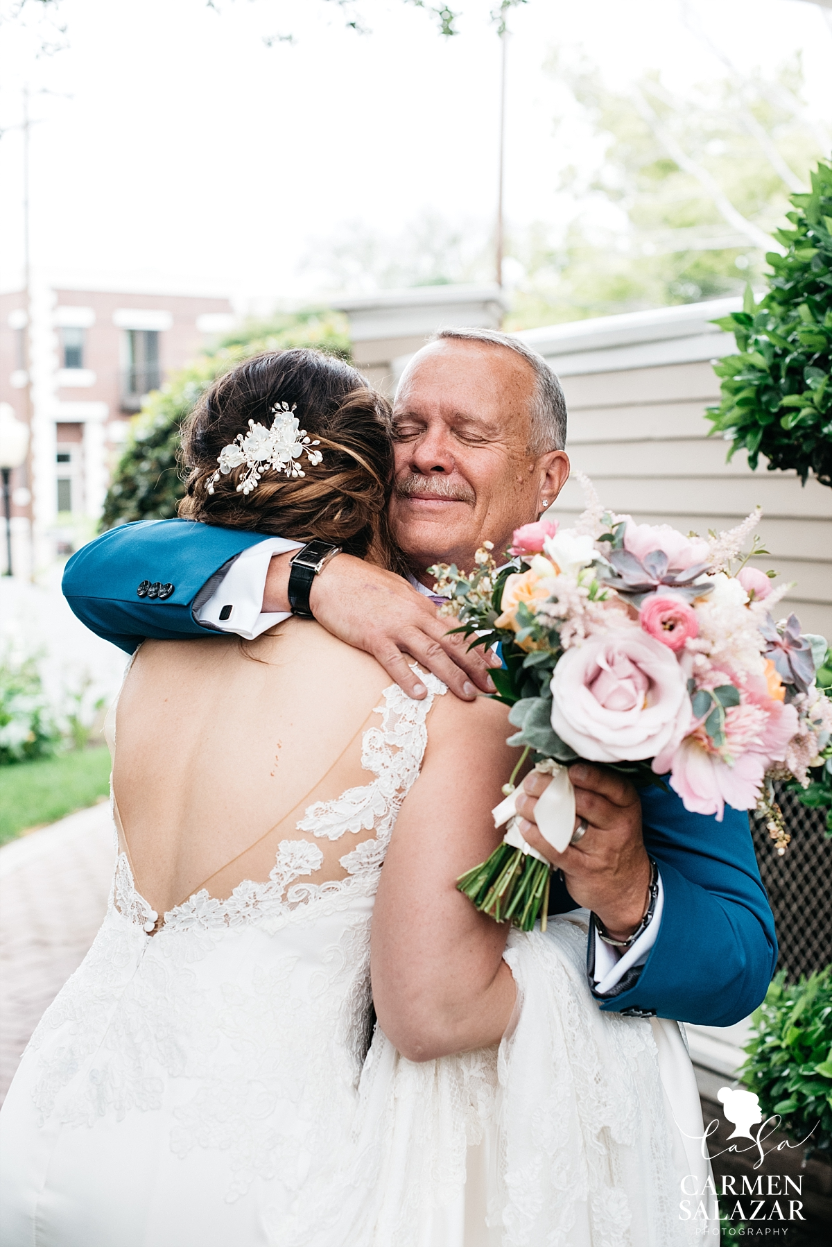 First look with dad at Vizcaya - Carmen Salazar