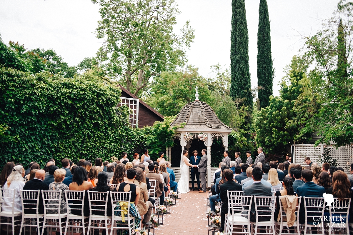 Spring wedding at Vizcaya Mansion - Carmen Salazar