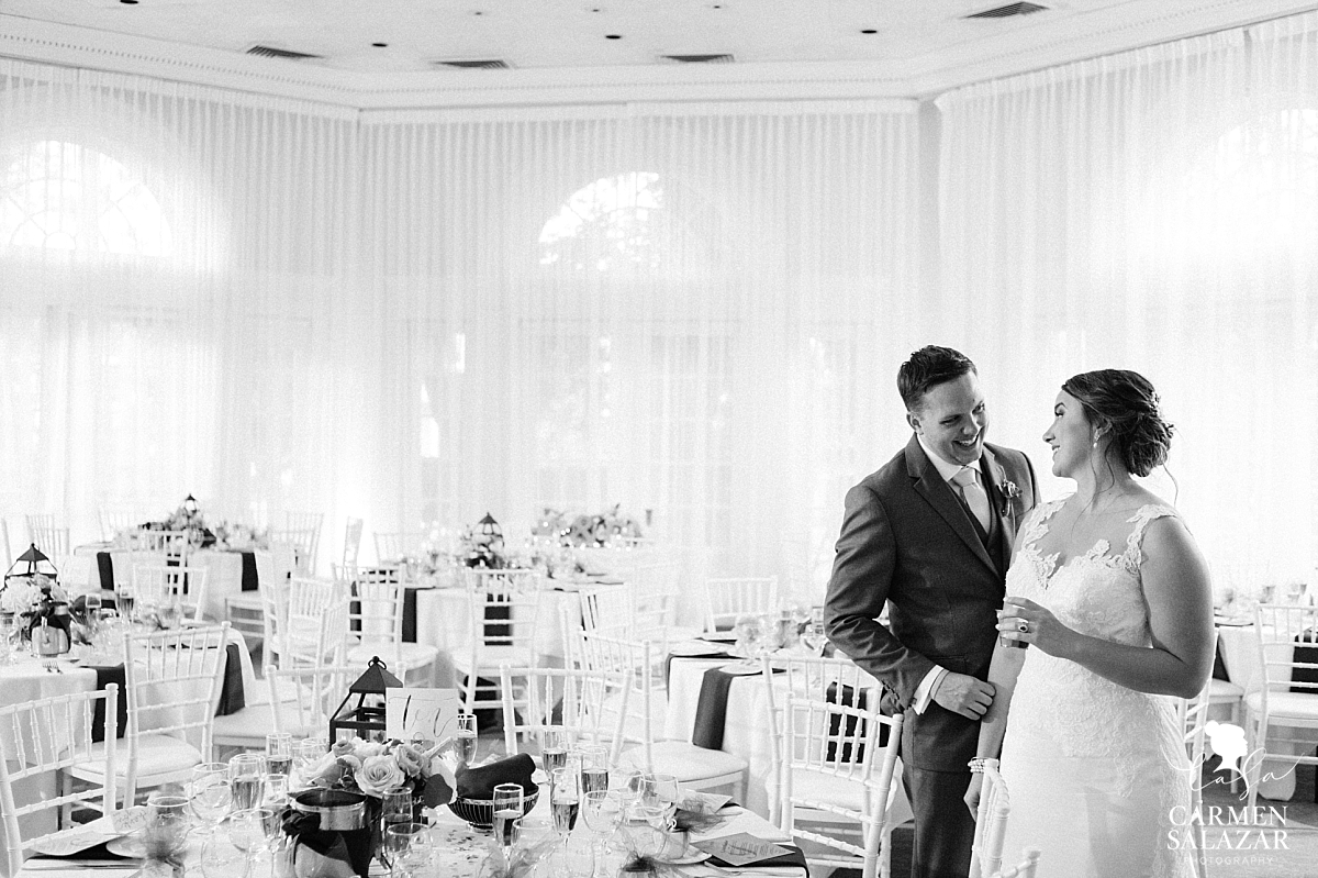 Reception room reveal at Vizcaya - Carmen Salazar