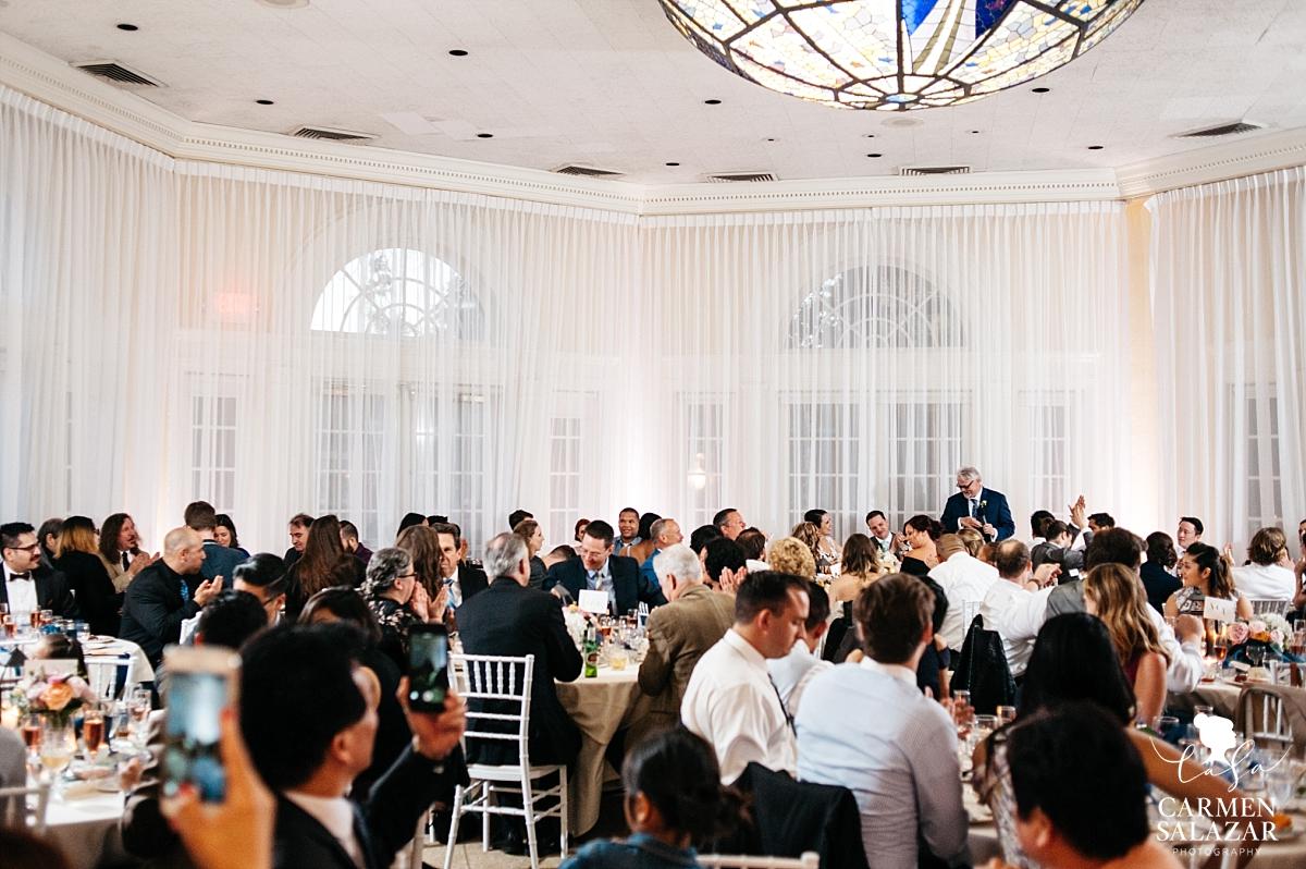 Father of the groom reception speech - Carmen Salazar