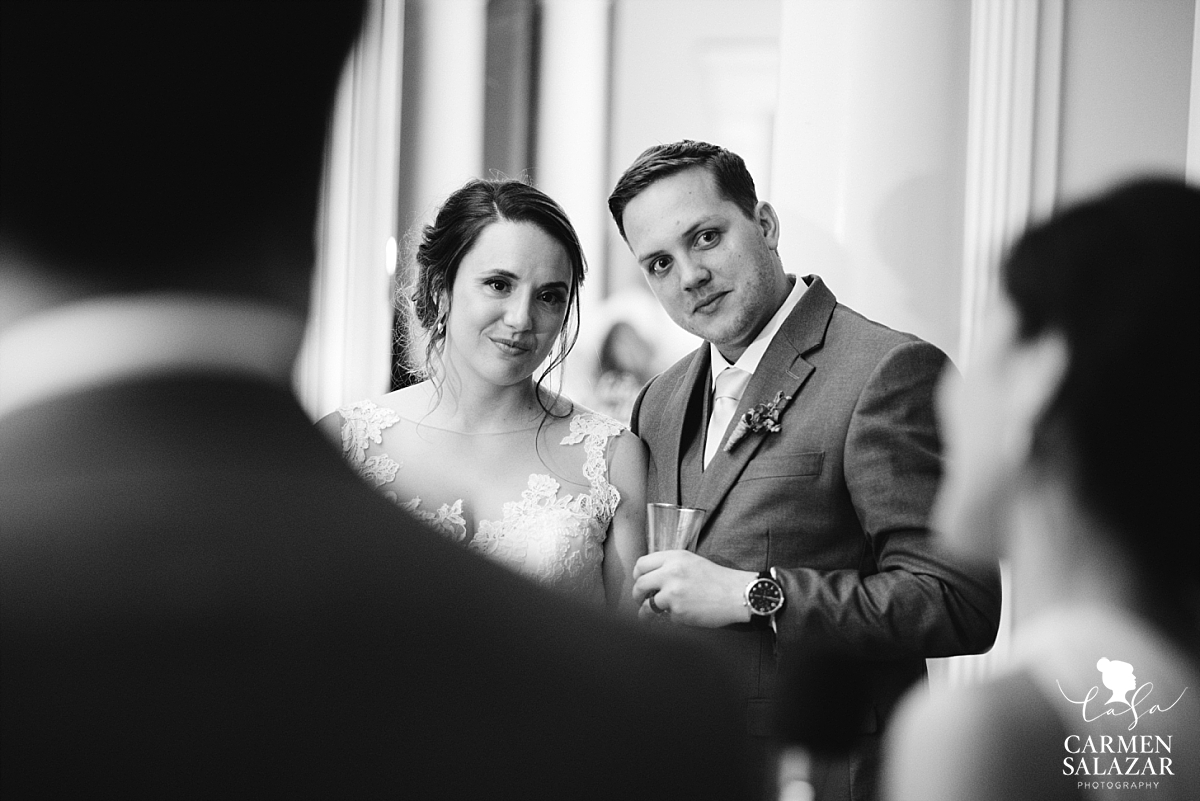 Vizcaya newlyweds watch speeches - Carmen Salazar