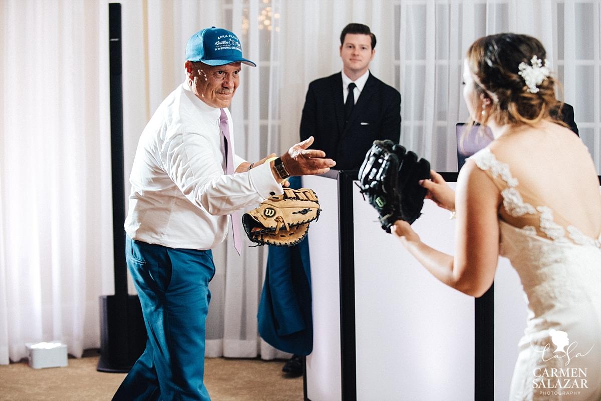 Softball father daughter dance - Carmen Salazar