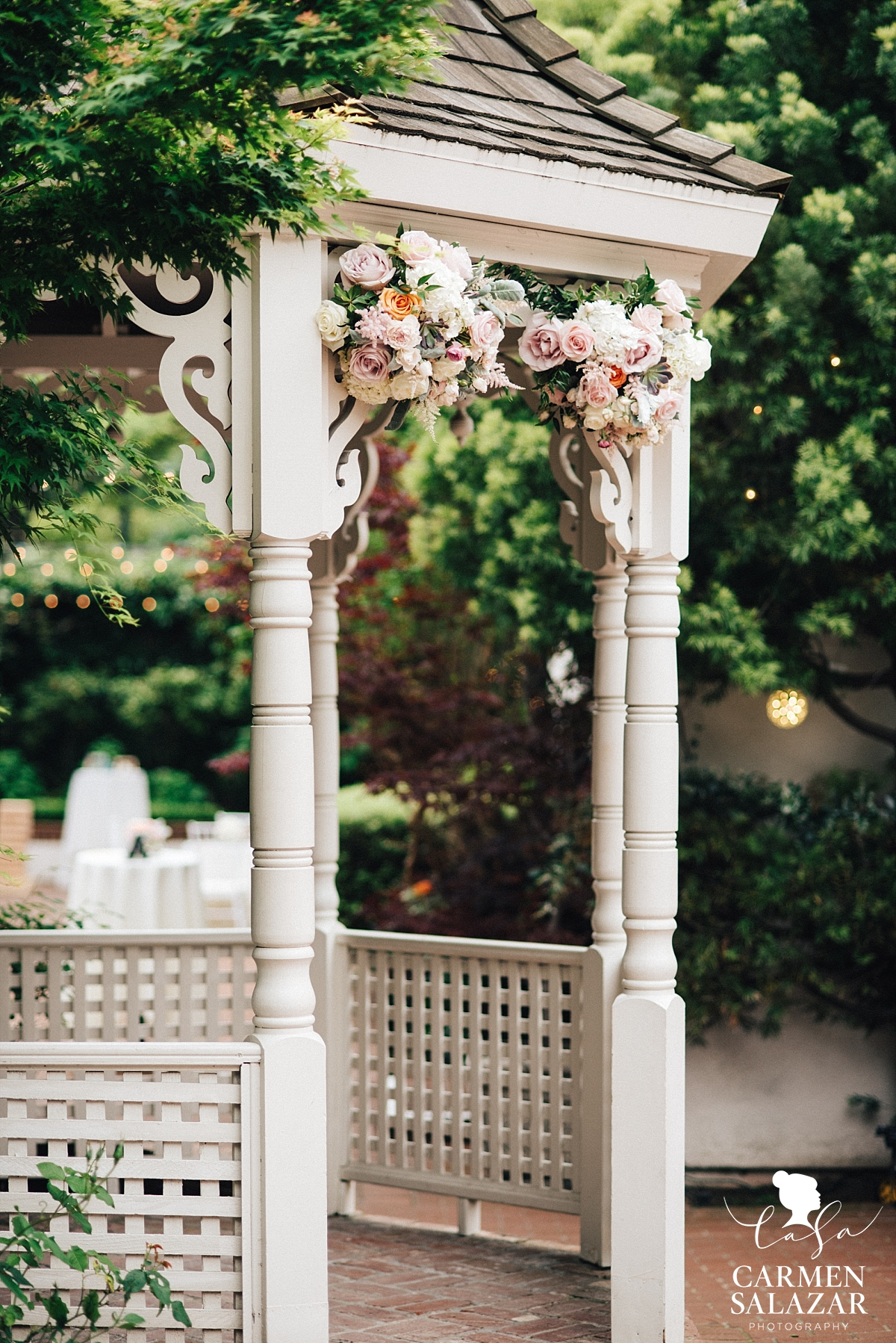 Vizcaya Mansion wedding ceremony - Carmen Salazar