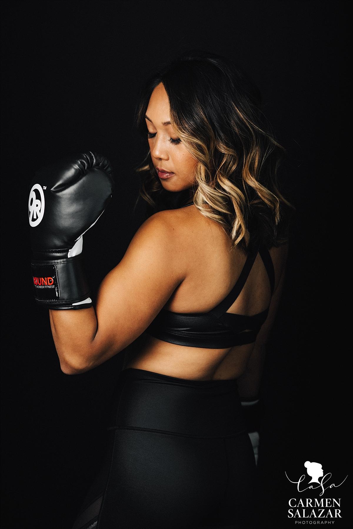 Fitness goal empower portraits - Carmen Salazar