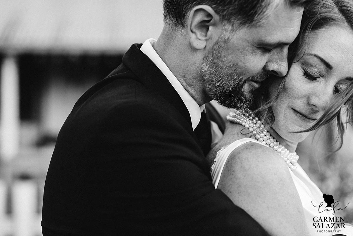 Intimate wedding portrait photography - Carmen Salazar