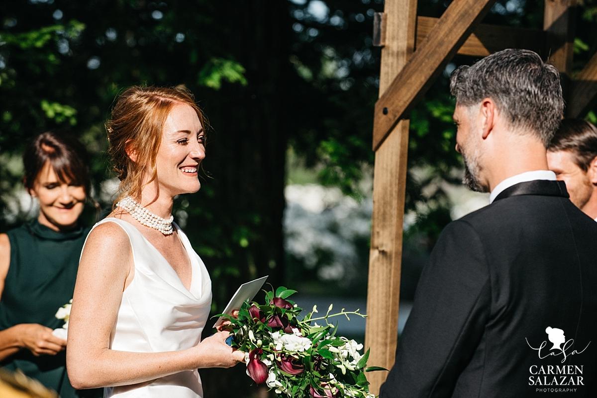 Giggling Park Winters bride - Carmen Salazar
