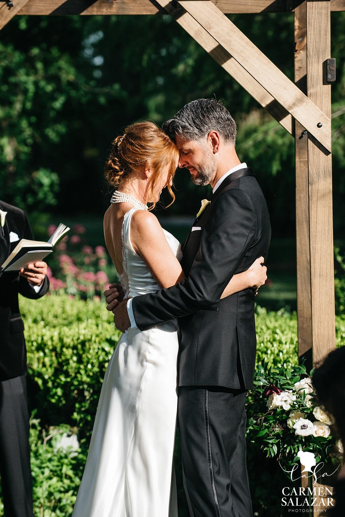 "Newlyweds say ""I do"" at Park Winters - Carmen Salazar"