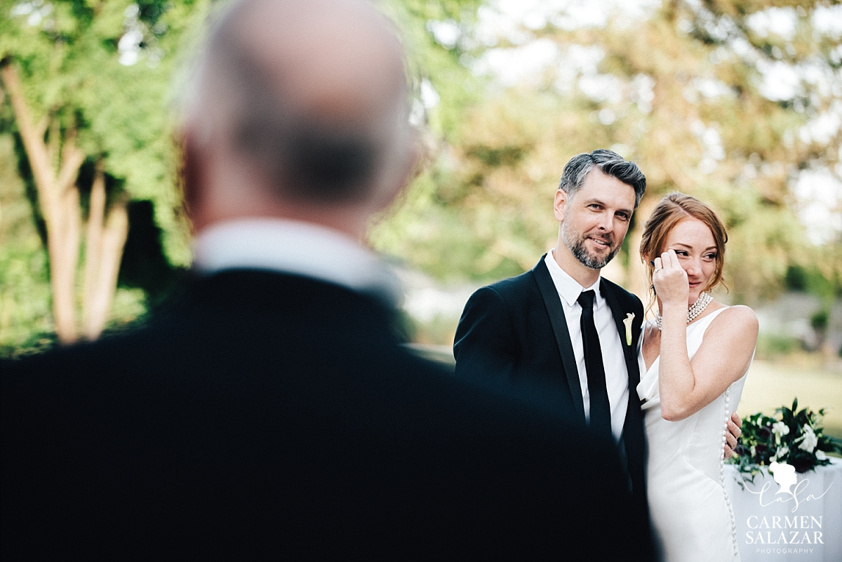 Park Winters bride cries at father's speech - Carmen Salazar