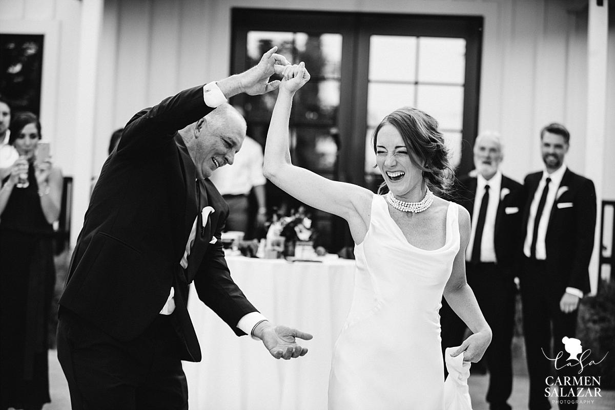 Fun father daughter dance at Park Winters - Carmen Salazar