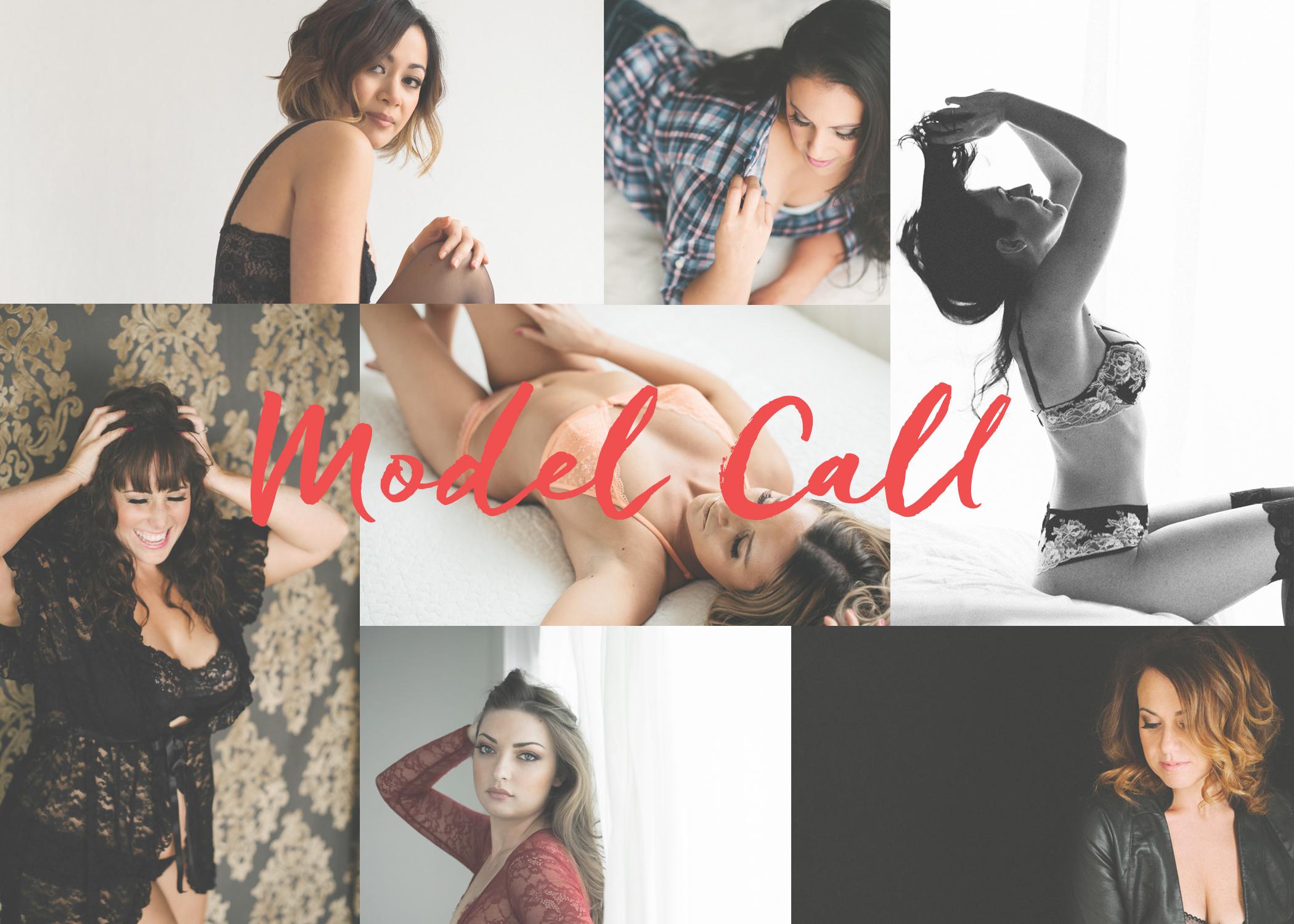 2018 boudoir model call