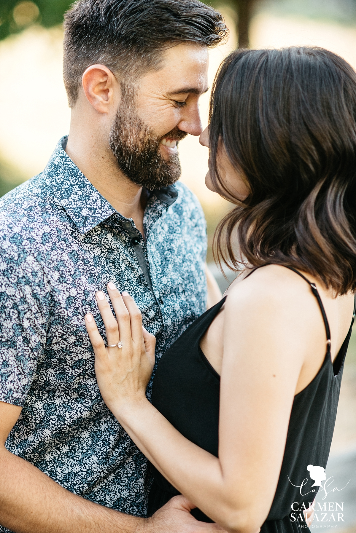Intimate California engagement portraits - Carmen Salazar