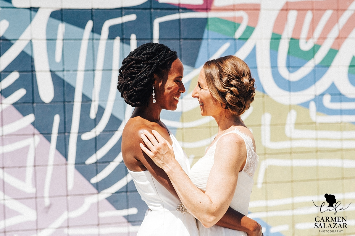 Same-sex bridal portraits - Carmen Salazar