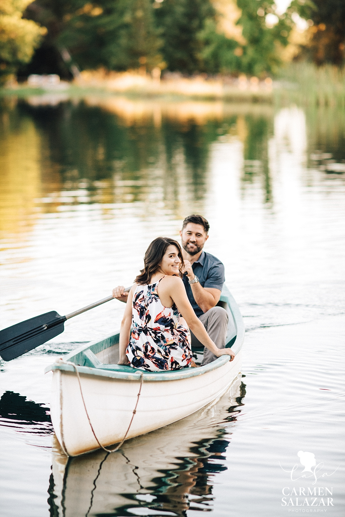Boat themed engagement session - Carmen Salazar