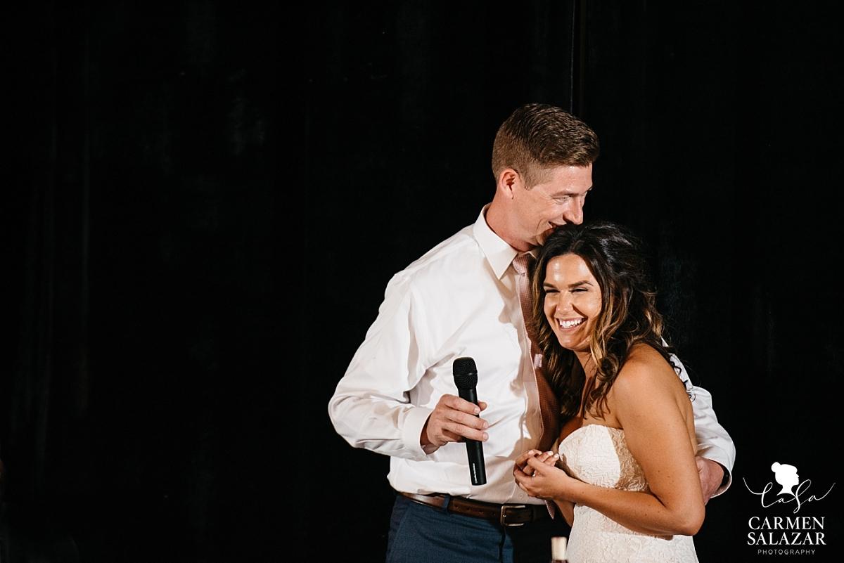Happy bride and groom welcome speech - Carmen Salazar