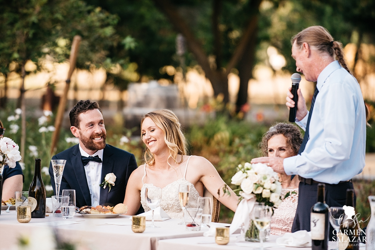 Sentimental father of the bride toasts - Carmen Salazar