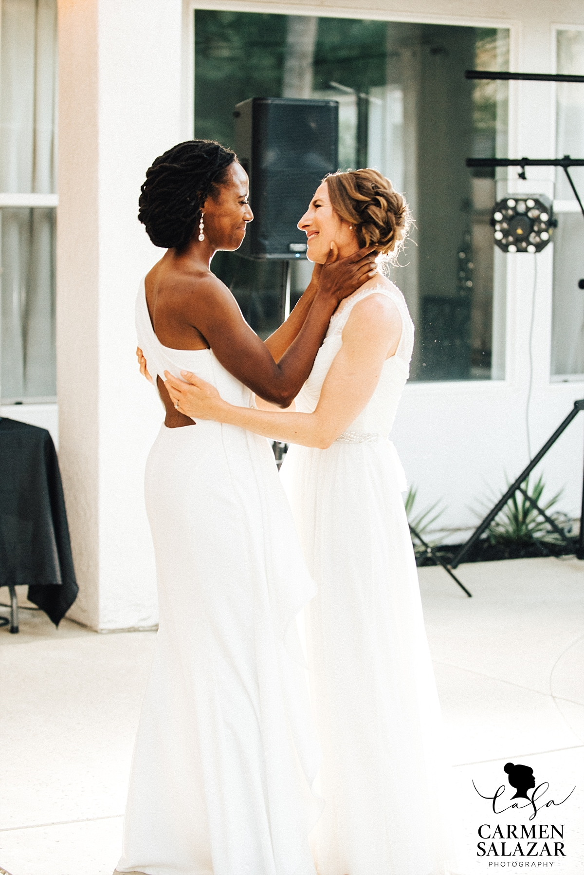 Emotional brides same-sex first dance - Carmen Salazar