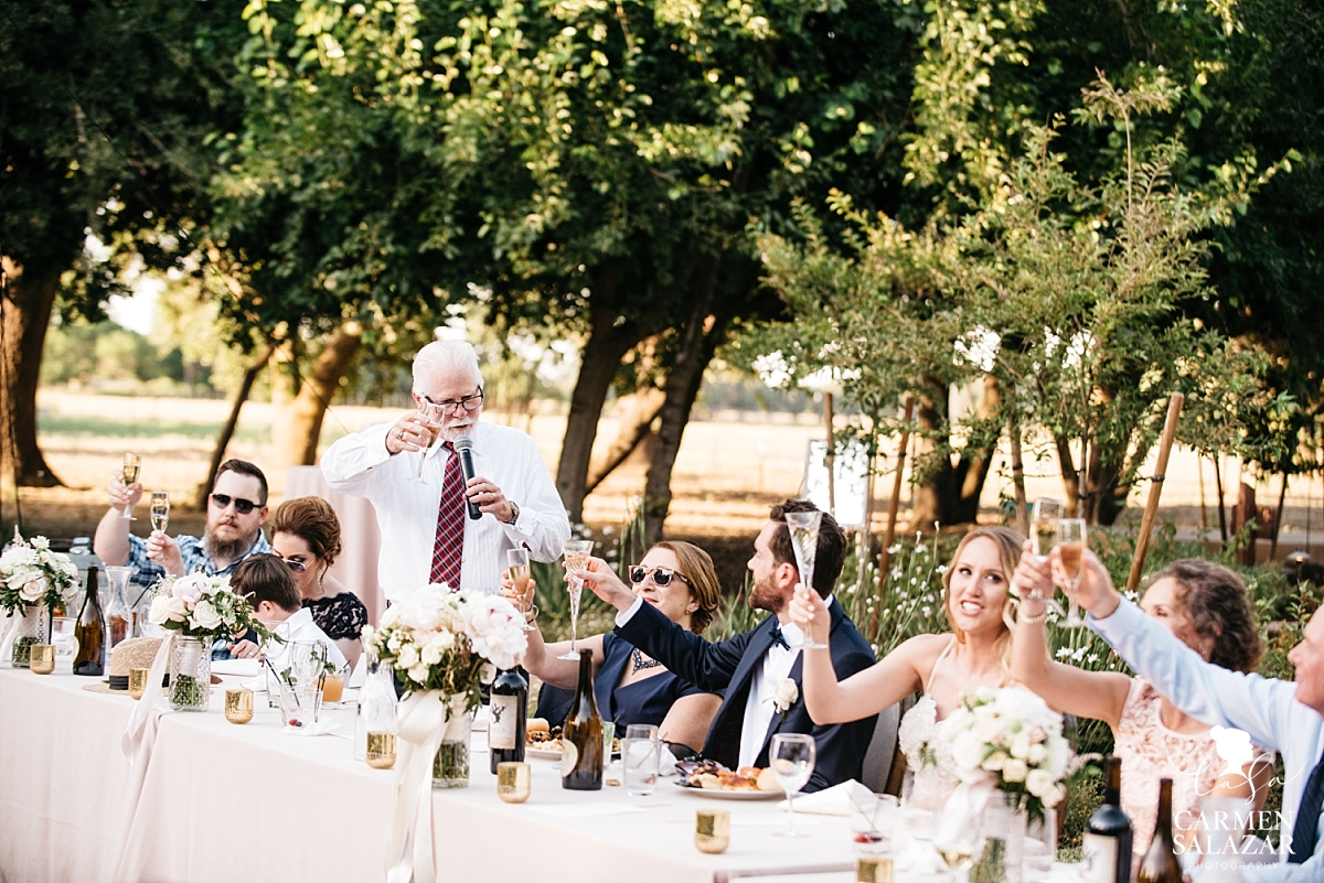 Hilarious father of the groom toasts - Carmen Salazar
