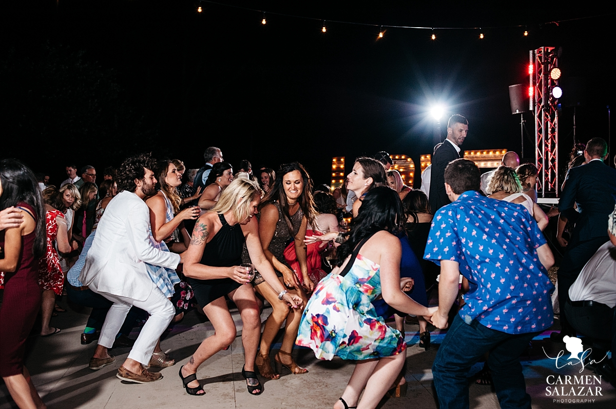 Silly wedding dance floor photos - Carmen Salazar