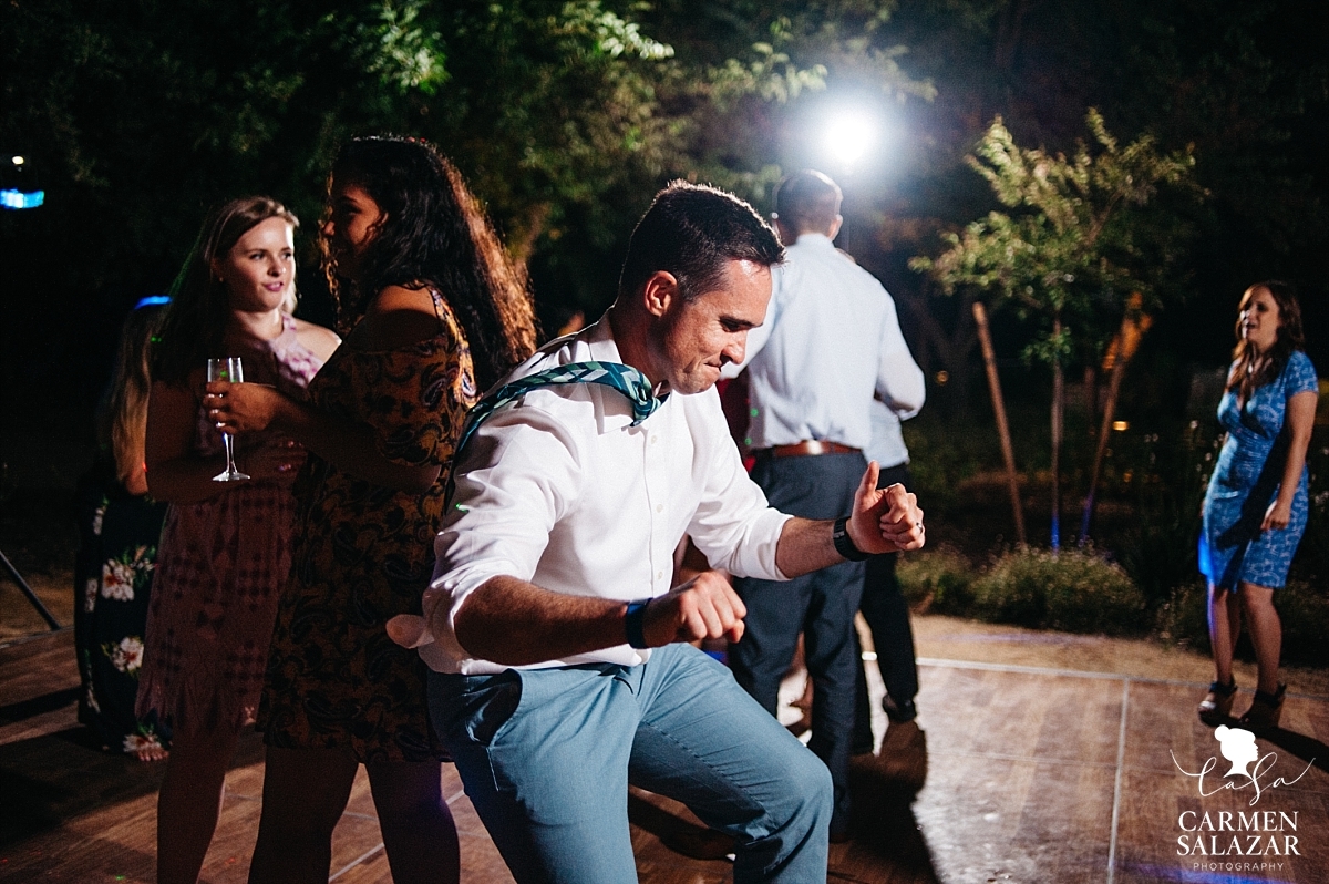 Energetic wedding dance floor - Carmen Salazar