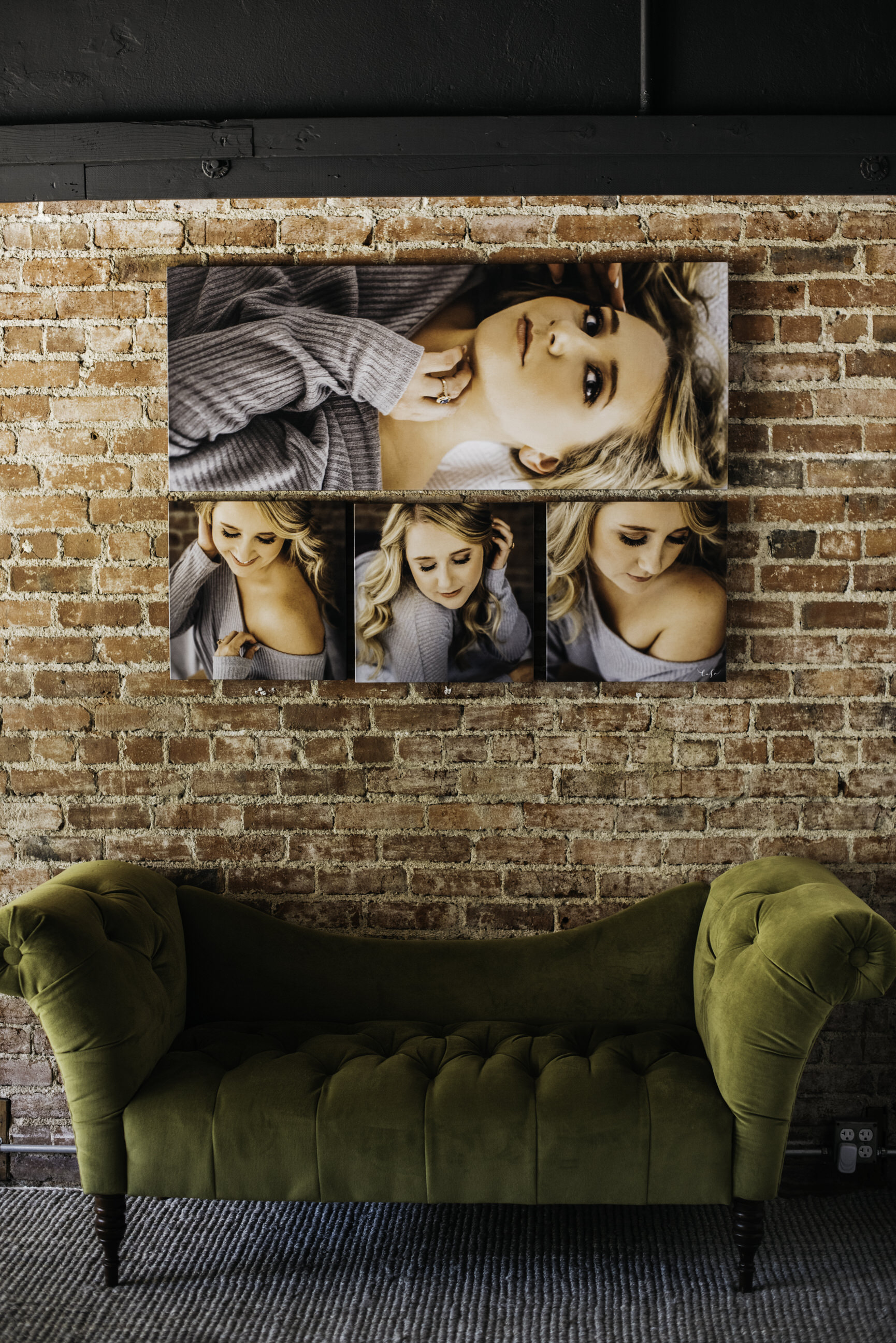 Boudoir canvas wall art