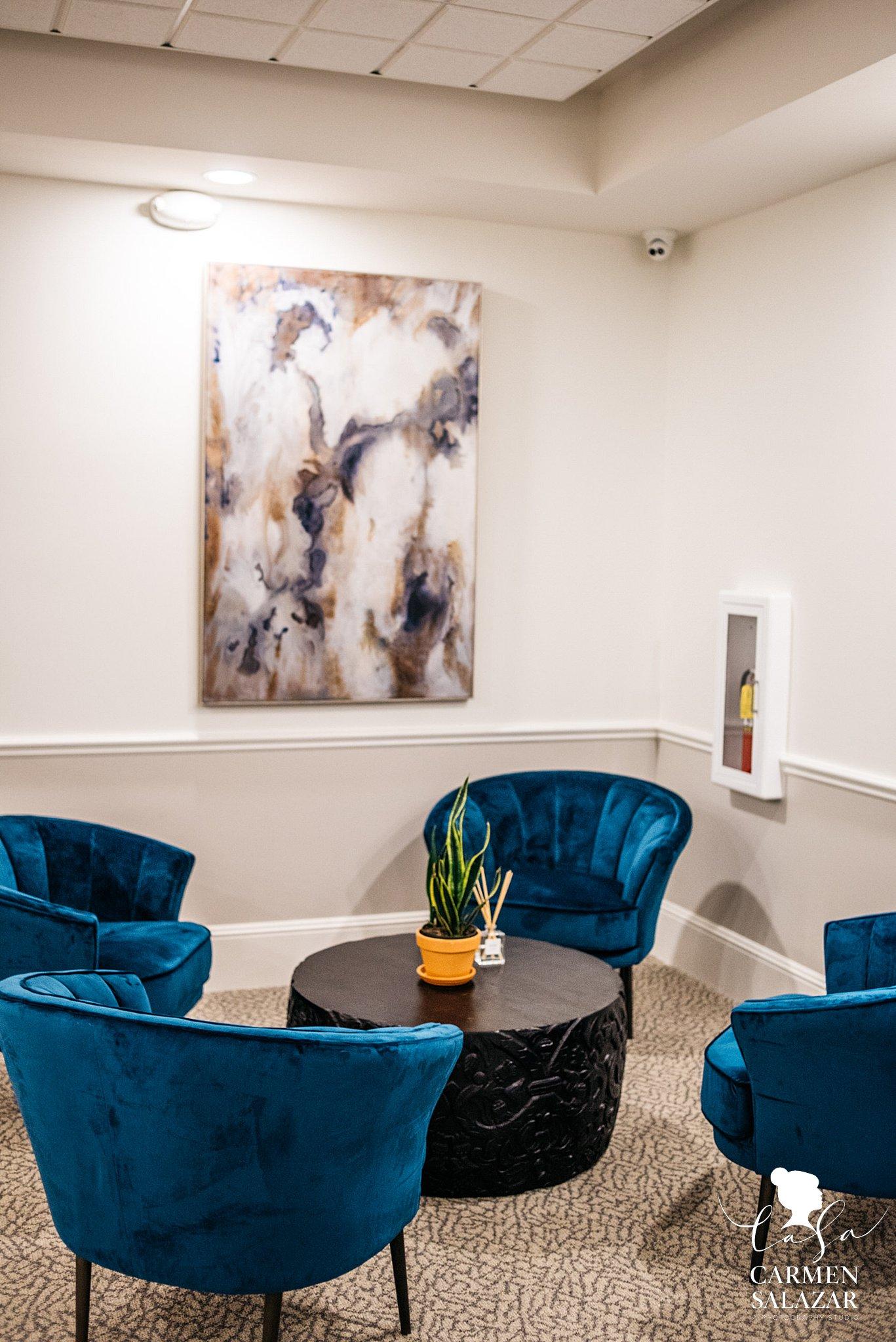 Hotel with modern interior design