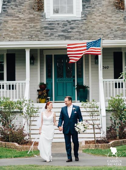 home wedding - Carmen Salazar Photography